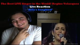 The Best LIVE Singer in the World! Regine Velasquez Live Reaction
