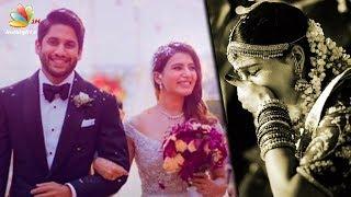 Samantha CRIES after Naga Chaitanya Ties the Knot | Marriage Video and Pics