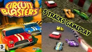 Circuit Blasters - 5 Tracks Gameplay PS2 HD