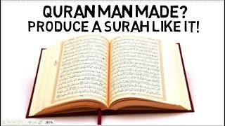 IS THE QURAN MAN MADE? - Shabir Ally Animated