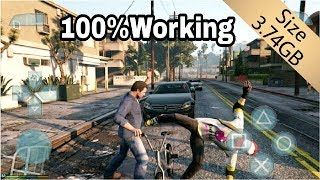 How To Dwnload And Install GTA V Apk Data 100% Working