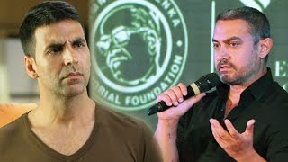 Aamir Khan's SHOCKING Comment On Akshay Kumar's Intolerance Remark