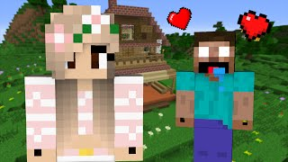 If Herobrine fell in Love with a Girl - Minecraft