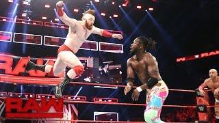 The New Day vs. Cesaro & Sheamus - Raw Tag Team Championship Match: Raw, Nov. 21, 2016