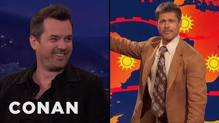 Jim Jefferies: Testing Revealed That Women Find Brad Pitt Attractive  - CONAN on TBS