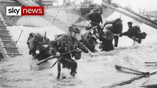 Archive Video Of The D-Day Normandy Landings