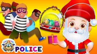 ChuChu TV Police Christmas Episode - Saving The Christmas Gifts from Thieves - ChuChu TV Surprise