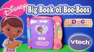 DOC MCSTUFFINS Disney  Discover & Learn Big Book of Boo Boos Toys Video