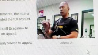 Finally A Cop Pays Something For His Crime