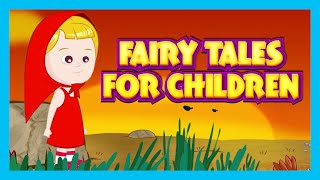 FAIRY TALES FOR CHILDREN |Rapunzel - Little Red Riding Hood - Big Bad Wolf Fairy Tale Story For Kids