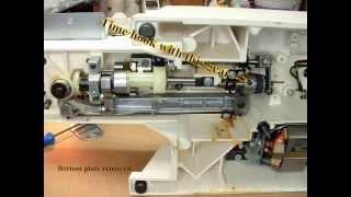 Singer Sewing Machine Adjustments