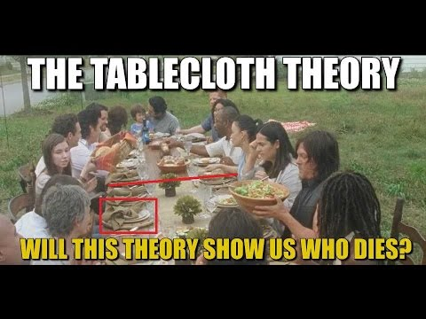 The Walking Dead Theory The Tablecloth Theory Does It Predict Death