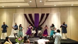 Family Dance for Jenita's wedding Mylanji. 4/15/16