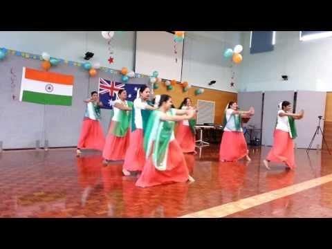 Xxx Mp4 Group Dance Performance On Independence Day Celebration At Albury NSW Australia 3gp Sex