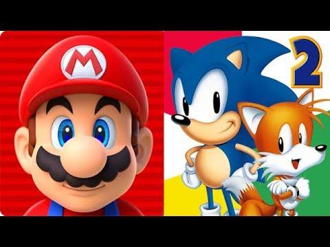 Super Mario Run vs Sonic the Hedgehog 2