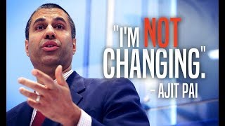 Ajit Pai Makes it Clear He
