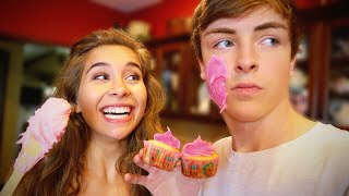 BOYFRIEND VS. GIRLFRIEND COOKING CHALLENGE!!
