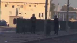 BAHRAIN : Direnişçiler Polisleri Kovalıyor