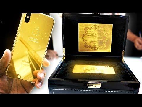 Xxx Mp4 BUYING A 24K GOLD IPHONE X IN DUBAI 3gp Sex