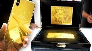 BUYING A 24K GOLD IPHONE X IN DUBAI