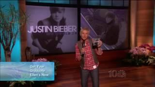 Justin Bieber U Smile & Baby (Live On Ellen) 2010
