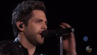 "Thomas Rhett sings ""Die a Happy Man"" live in concert 2016 50th ACM awards. HD 1080p"