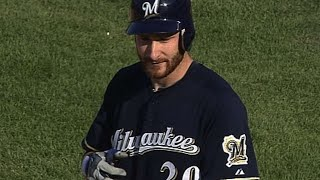 Jonathan Lucroy ties franchise high with seven RBIs