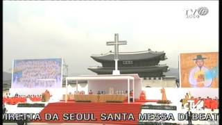 Omelia di Beatificazione Corea del Sud 16 Agosto 2014