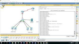 CCNA Training Video for beginners using Cisco Packet Tracer - VLAN, DHCP, OSPF