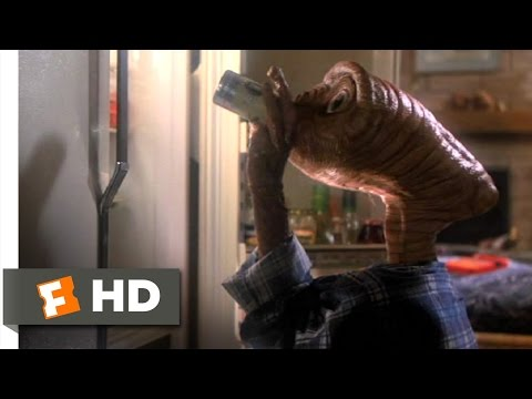 E.T. The Extra Terrestrial 2 10 Movie CLIP Getting Drunk 1982 HD