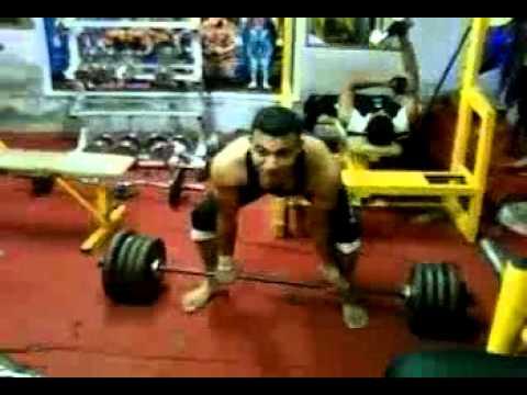 hossam Mano 170 kg power lifter eygpte