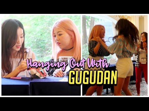 Hanging Out With KPOP Girl Group GUGUDAN!