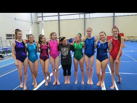 Gymnastics with the SevenSuperGirls!