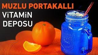 Muzlu Portakallı Vitamin Deposu Yapımı