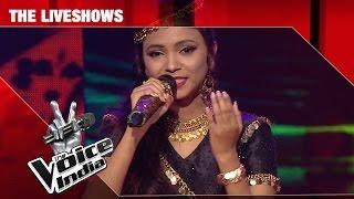 Rasika Borkar - Hothon mein aisi Baat | The Liveshows | The Voice India S2