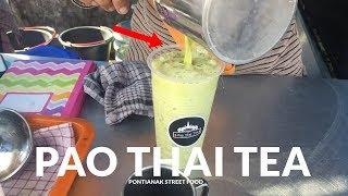 MURAH DAN ENAK !! PAO THAI TEA YANG PUNYA 4 CABANG DI PONTIANAK | PONTIANAK STREET FOOD # 141