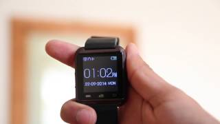 Uwatch U8 Smartwatch for Android Review