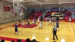 Birch Run at Bridgeport 2-17-17 JV Boys Basketball