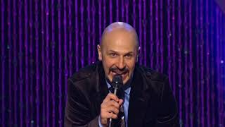"""The Arab, Persian, & Japanese Greeting"" - Maz Jobrani (Brown & Friendly)"
