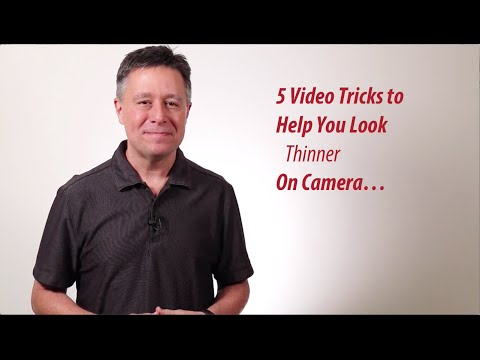 How To look Thinner On Camera Larry s Fake Video Diet Tips