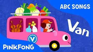 V | Van | ABC Alphabet Songs | Phonics | PINKFONG Songs for Children