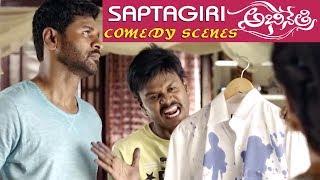 Abhinetri : Sapthagiri Hilarious Comedy Scene with Prabhu deva - Tamanna