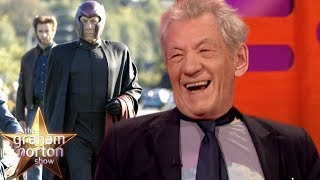 Sir Ian McKellen Still Wears Magneto