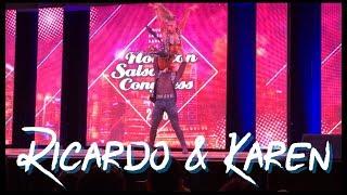 Ricardo vega & Karen Forcano (Chacha) @ Houston Salsa Congress18