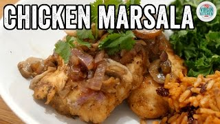 HEALTHY CHICKEN MARSALA RECIPE | Fat Boy Slimming #3