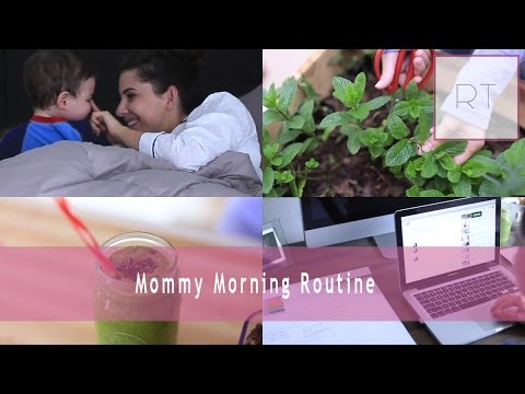 Mommy Morning Routine | Rachel Talbott