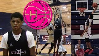 Ronaldo Segu and Nassir Little Go at Anfernee Simmons and Elijah Weaver at Miami Hoops Festival