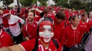 Oh Embolo Song | Schweizer Fanmarsch Paris Euro 2016 | Swiss Fans Take Over Paris!