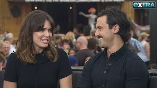 How Mandy Moore & Milo Ventimiglia Tested Their Chemistry Before Joining