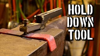 THE BEST Blacksmith Hold Down Tool // Plans for Making a Holdfast